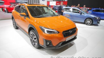 Euro-spec 2018 Subaru XV at the IAA 2017 - Live