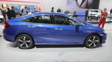 2017 Honda Civic Sedan showcased at IAA 2017 - Live