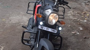 Honda Navi Touring Mods by Sahyadri Moto