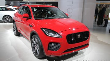 Jaguar E-Pace showcased at IAA 2017 - Live