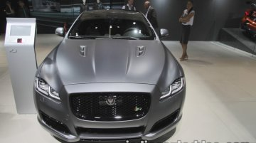 Jaguar XJR575 showcased at IAA 2017 - Live