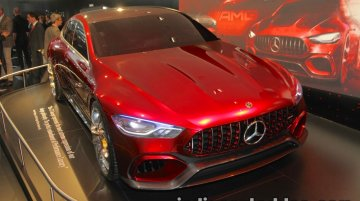 Mercedes-AMG GT Concept showcased at IAA 2017 - Live