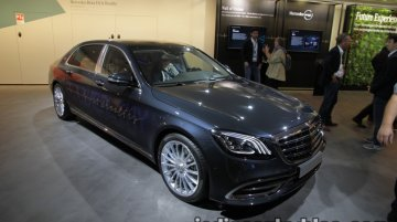 Mercedes-Maybach S-Class Fit & Healthy showcased at IAA 2017 - Live