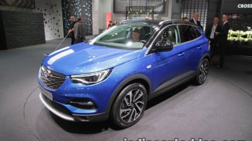 Opel Grandland X showcased at IAA 2017 - Live