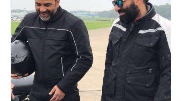 Royal Enfield 750 cc motorcycle teased by Rudratej Singh & Siddhartha Lal