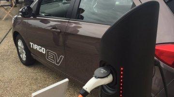 Tata Tiago EV Concept revealed at the LCV 2017 in the UK