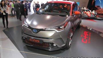 Toyota C-HR Hy-Power Concept - IAA 2017 Live