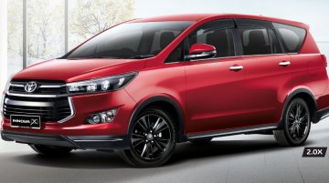 Toyota Innova X variant launched in Malaysia