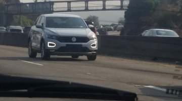 VW T-Roc spotted in the wild with no camouflage