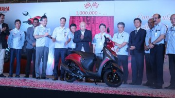 Yamaha's Chennai plant reaches 1 million unit production milestone