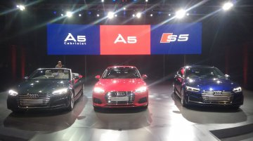 2017 Audi A5 Sportback, A5 Cabriolet & S5 Sportback launched in India
