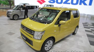 2017 Suzuki WagonR at Tokyo Motor Show