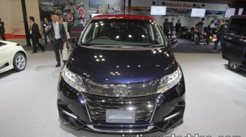 2018 Honda Odyssey (facelift) at the 2017 Tokyo Motor Show - Live