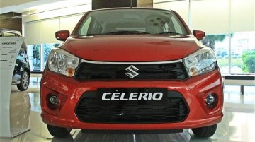 2018 Maruti Celerio (facelift) reaches dealerships - In 4 Live Images