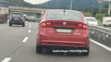 2018 Proton Preve with dual-tone colour scheme spied