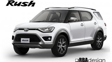 Next-gen 2018 Toyota Rush rendered