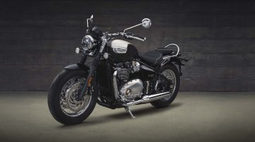 Triumph Bonneville Speedmaster India launch on February 27