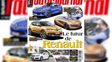 2019 Renault Captur (European spec) rendered, arriving in 2019