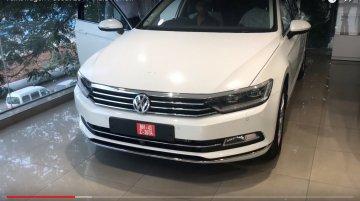 India-spec 2017 VW Passat completely revealed at dealership - In 10 Live Images