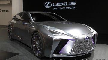 Lexus LS+ Concept at the 2017 Tokyo Motor Show