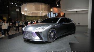 Lexus LS+ Concept at the 2017 Tokyo Motor Show - Live