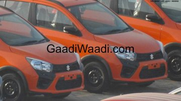 Maruti Celerio X exterior fully exposed, to reach dealerships soon