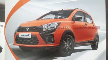 Maruti Celerio X brochure scans leak ahead of its imminent launch