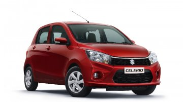 Maruti Celerio facelift launched in India