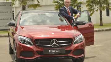 Mercedes C Class 'Edition C' launched in India at INR 42.54 Lakhs