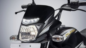 Refreshed Bajaj Platina ComforTec with LED DRL launched officially