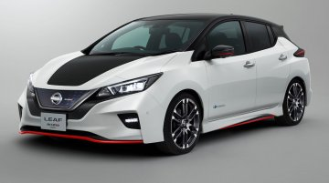 Nissan Leaf NISMO Concept revealed, to debut at 2017 Tokyo Motor Show