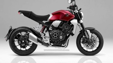 Production Honda Neo Sports Cafe – IAB Rendering