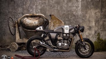 Custom Royal Enfield Continental GT by OK Easy Shop