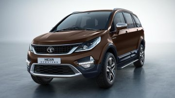 Tata Hexa Downtown launched at INR 12.18 lakhs
