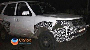 Tata Safari Storme Army-spec spied in Pune