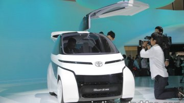 Toyota Concept-i RIDE at the 2017 Tokyo Motor Show