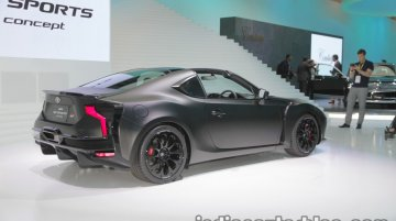 Toyota GR HV SPORTS concept at the 2017 Tokyo Motor Show - Live