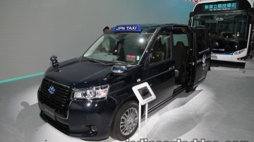 Toyota JPN Taxi at the 2017 Tokyo Motor Show