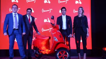 Piaggio Vespa RED launched in India at INR 87,009