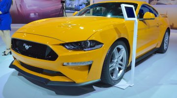 2018 Ford Mustang showcased at the 2017 Dubai Motor Show