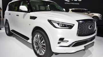 2018 Infiniti QX80 debuts at the 2017 Dubai Motor Show