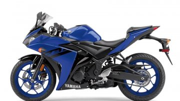 2018 Yamaha YZF-R3 India launch at the 2018 Auto Expo - Report