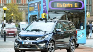 Autonomous Tata Hexa tests start in the UK