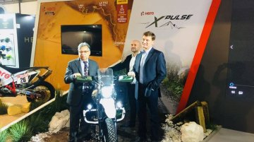 Hero XPulse Concept makes its global debut at the 2017 EICMA show