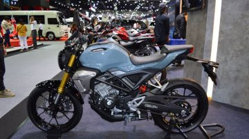Honda CB150R ExMotion ABS & HRC Edition at 2017 Thai Motor Expo - Live
