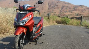 Honda Grazia temporarily discontinued in India - IAB Report