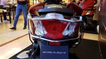 Honda Grazia with accessories