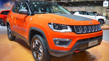 Fresh details reported on the upcoming top-end Jeep Compass Trailhawk