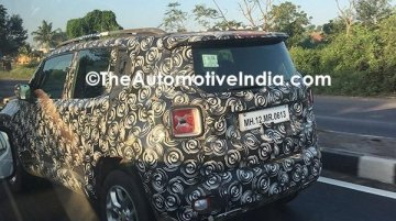 Jeep Renegade spotted in India with a 2.0 L diesel engine