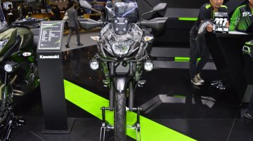 Kawasaki Versys-X 300 Camo Edition at 2017 Thai Motor Expo - Live